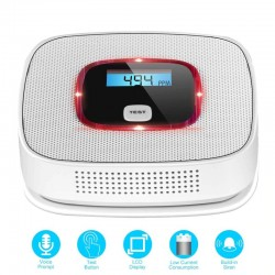 LCD - Carbon Monoxide - Gas Alarm Sensor - Smoke Tester