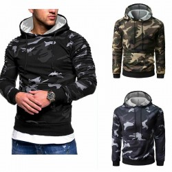 Men's hoodie - camouflage