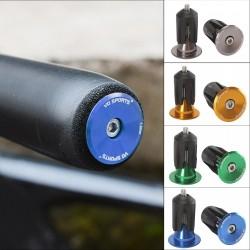 Bicycle handlebar end cap - plugs - aluminum alloy