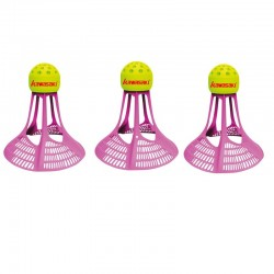 Kawasaki - badminton shuttlecock - plastic nylon ball - wind resistance - with a storage can - 3 - 9 pieces
