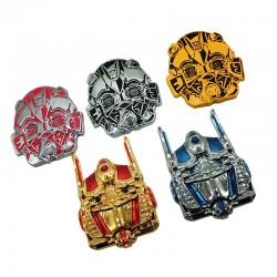 3D transformers - metal emblem - car sticker