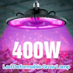 LED plant grow lamp - light panel - full spectrum - E27 / E26 - 100W - 200W - 300W - 400W