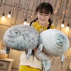 Seal shaped toy - plush pillow