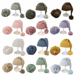 Sleeping hat for newborns - with wrap - baby photography accessories