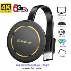 Mirascreen G14 2.4G - 4K - DLNA - AirPlay HD - TV stick - WiFi display - HDMI