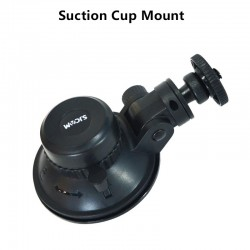Car suction cup - holder - 360 degree rotatable - for GoPro SJCAM SJ5000 M20 SJ6 SJ8 SJ10 PRO SJ4000Air