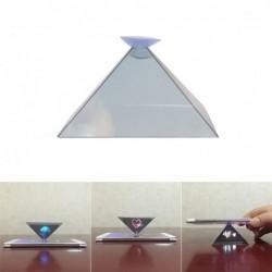 Mini proiettore per telefono - forma piramidale - ologramma 3D