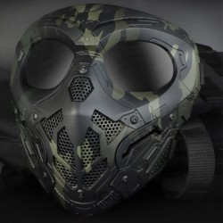 Lurker tactical mesh mask - camouflage / airsoft / paintball