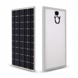 Glass solar panel - waterproof - 1 / 2 pieces