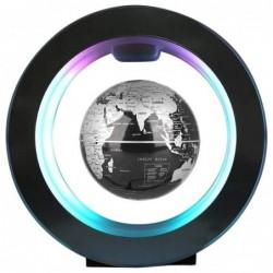 Magnetic floating globe - world map - night lamp - LED