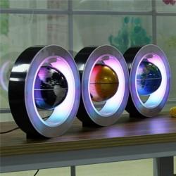 Floating / levitation magnetic globe - world map - night light - LED