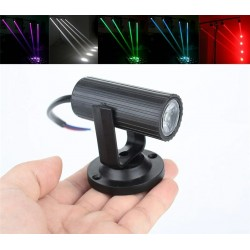 Mini LED stage light - 1W - RGBW - parties / disco / stage