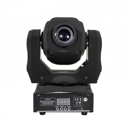 LED spot - stage light - moving head - with patterns - with DMX controller - 60W