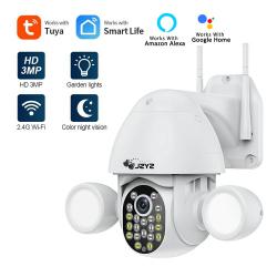 Automatic surveillance llighting camera - humanoid trigger - Wifi - auto tracking