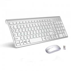 Wireless keyboard / mouse / USB - 2.4G - USA / Russian layout