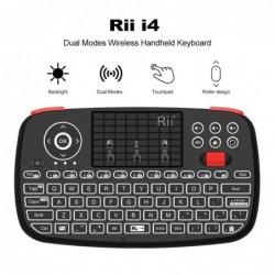 Rii i4 - mini wireless keyboard - Bluetooth - English / Russian / Spanish / French / Hebrew layout