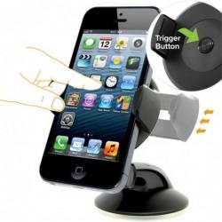 Universal smartphone holder - dashboard stand - suction