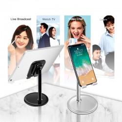 Universal smartphone / tablet stand - holder - adjustable
