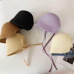 Straw hats - kids / children - adjustable