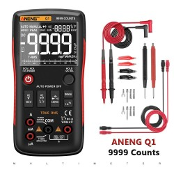 Q1 digital multimeter - 9999 counts - with LCD display