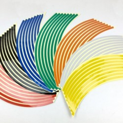 Car reflective strips - wheel stickers - 18 inches