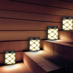 Solar wall lamp - garden light - with motion sensor - waterproof - 6 LED