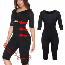 Slimming bodysuit - arms / waist / thighs - full body shaper - with zipper