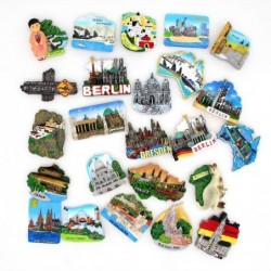 Tourist 3D fridge magnets - Bhutan / Japan / Germany / Turkey / Australia / Prague