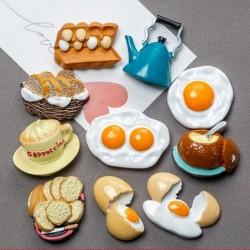 3D bionic food - basket - fridge magnets