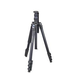Professional high tripod - monopod - stand - fast flip lock - CNC 36mm ball head - for DSLR camera - 201cm