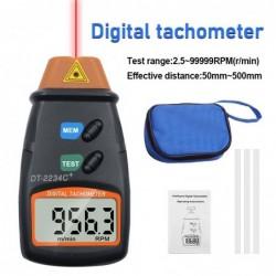 Digital laser tachometer - speed gauge - non-contact - RPM