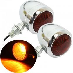 12V Motorcycle Turn Signal Indicator Light Lamp
