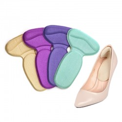 Soft shoe insoles - protective heel stickers - 1 pair