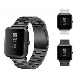 20mm - universal replacement band for Smart Watch - metal & mesh