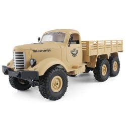 JJRC Q60 1/16 2.4G 6WD Off-Road military truck crawler