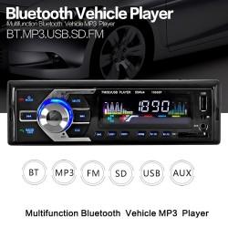 12V Bluetooth - AUX-IN MP3 FM-USB - 1Din - remote control - audio stereo car radio