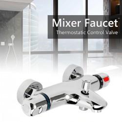 Bathroom shower faucet - wall mounted - set