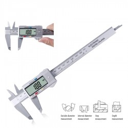 Calibro a corsoio digitale LCD da 150 mm - micrometro elettronico - strumento di misurazione