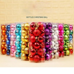Christmas tree balls - 24 pieces