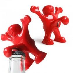 Uomo rosso - apribottiglie divertente