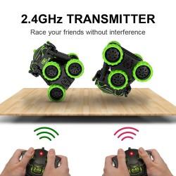 4WD electric RC car - crawler - remote control - radio controlled drive - toy